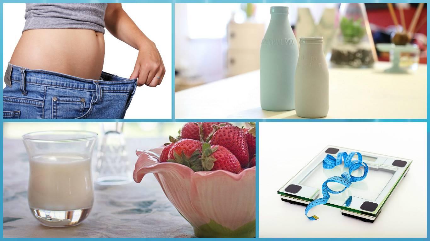 Минус 5 кг за неделю: как похудеть на кефире
