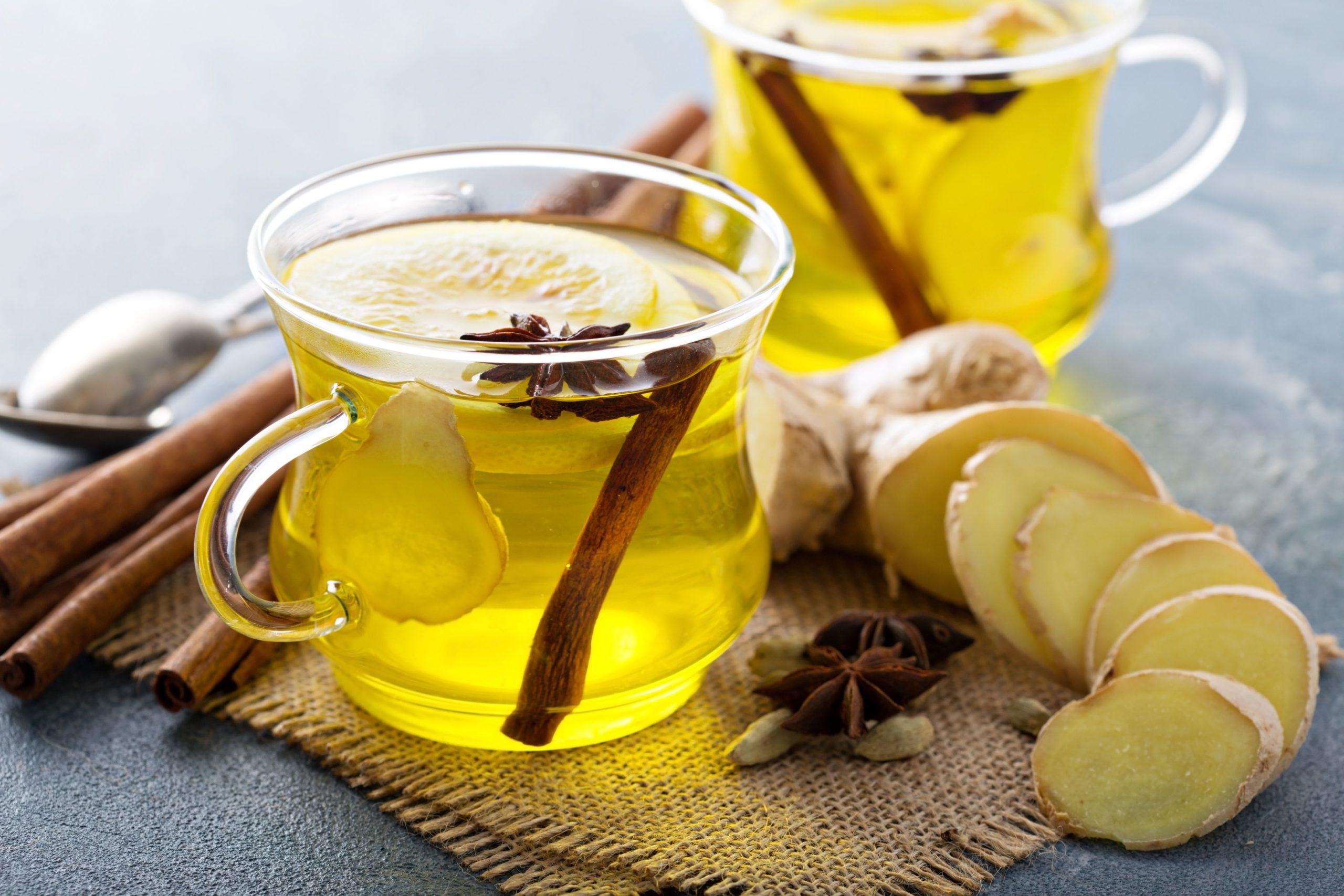В чем польза от употребления имбирного чая?