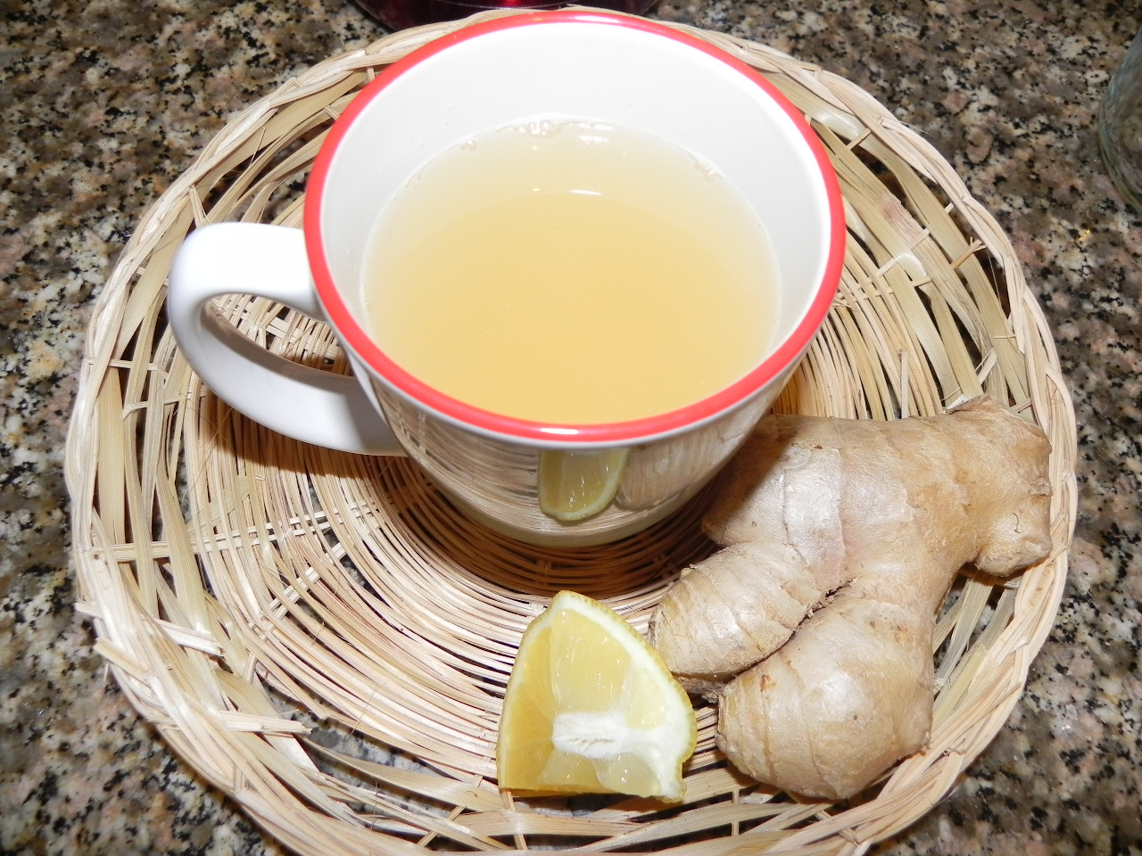 Чай имбирный при похудении