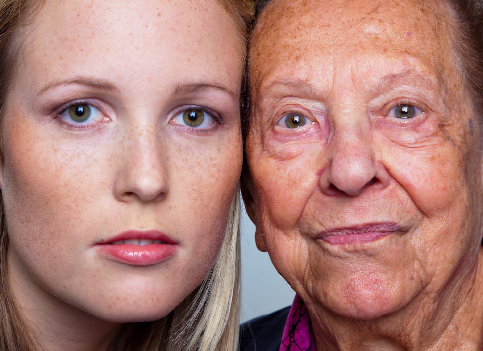 С какого возраста начинается старение