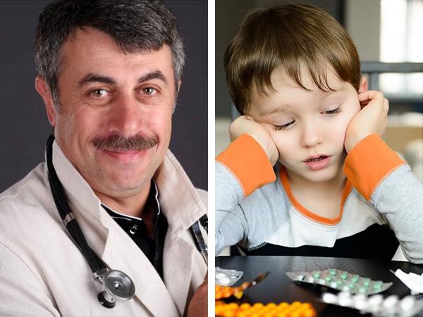 Комаровский озвучил ошибки при лечении простуды