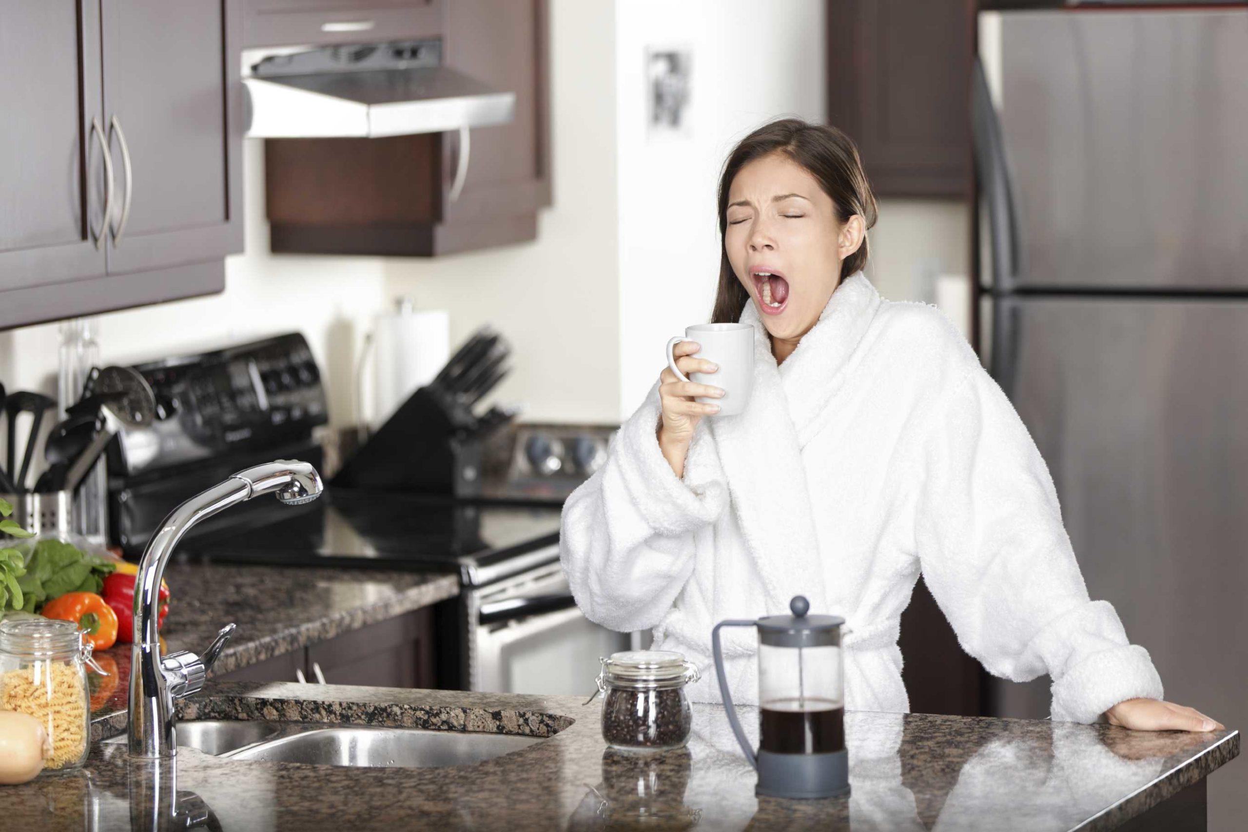 Как оставаться бодрым без кофе?